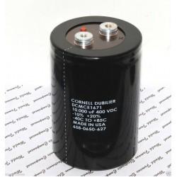 美國CDE 10000uF (10000µF) 400V DCMCE1671 鎖螺絲型 濾波電容