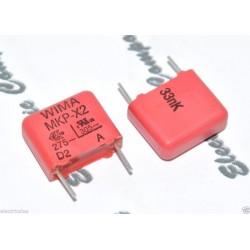 德國WIMA MKP-X2 0.033uF AC 305V 10% 腳距:10mm 金屬膜電容 X電容