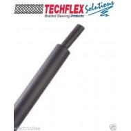 """0.5公尺-美國 Techflex H3N0.5BK (1/2"""") (12.7mm)  熱縮比 3:1 黑色軍規熱縮套管"""
