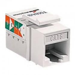 美國ETON (COOPER) 5546-6W 白色 CAT6 資訊插座 網路插座 不含資訊面板