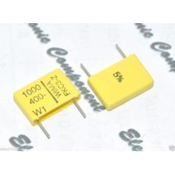 德國WIMA FKC3Z (FKC-3Z) 1000P (1000PF 1nF) 400V 5% 腳距:10mm 金屬膜電容器
