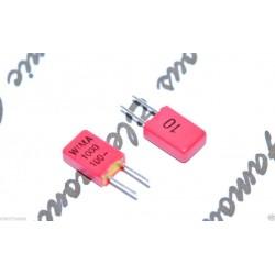 德國WIMA FKP02 1000pF 100V 10% 腳距:2.5mm 金屬膜電容器