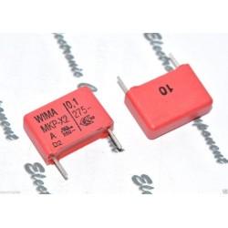 德國WIMA MKP-X2 0.1uF AC 275V 10% 腳距:15mm 金屬膜電容 X電容