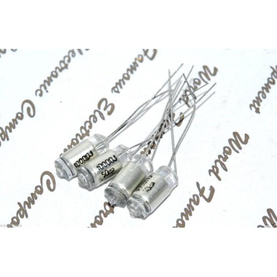 TSC 0.01uF 50V 5% Polystyrene (PS) 立式電容