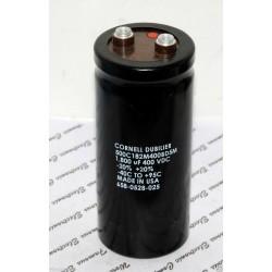 美國CDE 1800uF 400V 500C182M400BD5M 鎖螺絲型 濾波電容