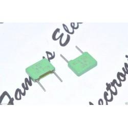 德國 ERO MKT1818 2200p 630V 10% 腳距:7.5mm 金屬膜電容器 1顆1標