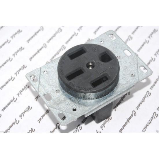 美國 COOPER 1258-SP插座 NEMA 14-50R 50A 125/250V 電動汽車 (特斯拉)
