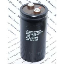 美國CDE 3900uF 400V DCMC392M400CE5F 鎖螺絲型 濾波電容