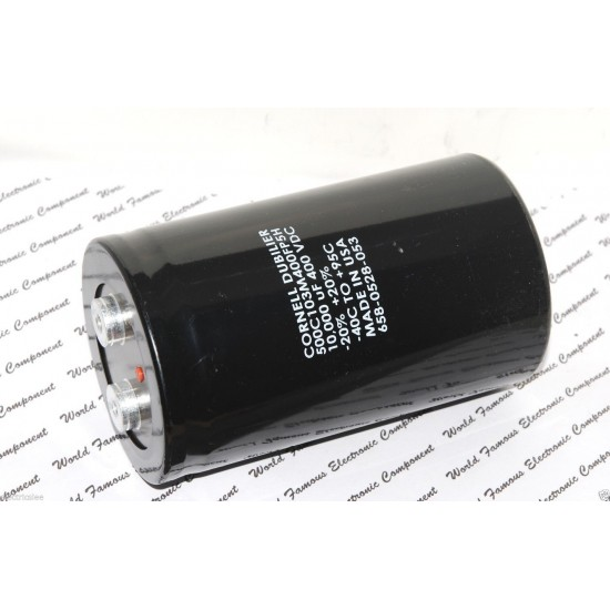 美國CDE 10000uF (10000µF) 400V 500C103M400FP5H 鎖螺絲型 濾波電容