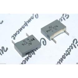 義大利ARCOTRONICS 1800P 1000V MKP R76 腳距:10mm 方形金屬膜電容 x 10PCS