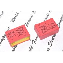 德國WIMA FKP1 0.022uF (0,022µF 22nF) 4000V 5% 腳距:37.5mm金屬膜電容器