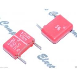 WIMA MKC4 0.033uF 250V 5% 腳距:10mm Polycarbonate 金屬膜電容器