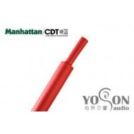 美國Manhattan/CDT 軍規熱縮套管 1/16(1.6mm) (熱縮比例 1:2) 紅色 0.5公尺1標