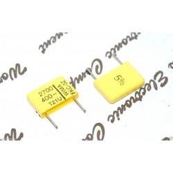 德國WIMA FKC3Z (FKC-3Z) 2700P 400V 5% 腳距:10mm 金屬膜電容器
