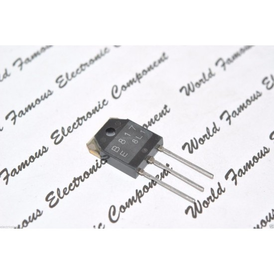 2SB817 140V 12A 100W PNP 電晶體 1顆1標