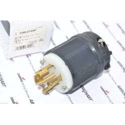 美國COOPER CWL2130P NEMA L21-30P 30A 120V/208V 4P5W Locking 防鬆插頭