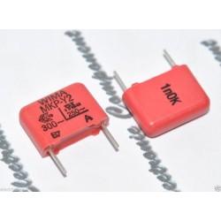 德國WIMA MKP-Y2 1000P AC 300V 10% 腳距:10mm Y2/RF 金屬膜電容