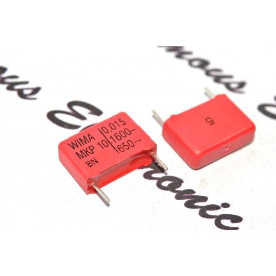 德國WIMA MKP10 0.015uF(15nF) 1600V 5% 腳距:15mm 金屬膜電容
