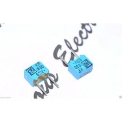 德國 ERO KP1830 3300P 63V 2.5% 腳距:5mm 金屬膜電容器 1顆1標