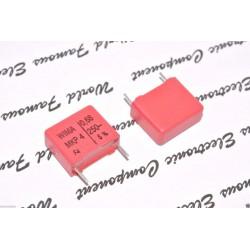 德國WIMA MKP4 0.68uF (68nF) 250V 5% 腳距:15mm 金屬膜電容器