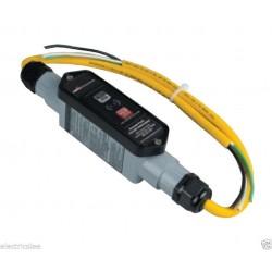 美國COOPER GFI22M1NN 20A 240V 工業級攜帶式 GFCI 漏電斷路器 防漏電插座 工地防漏電連接器
