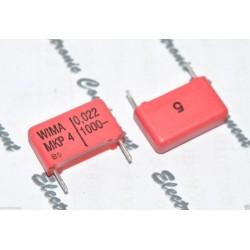德國WIMA MKP4 0.022uF 1000V 5% 腳距:15mm 金屬膜電容器