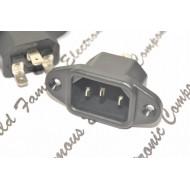 SCHURTER 6162.0055 IEC C14 10A 250VAC 中接點 電源公座