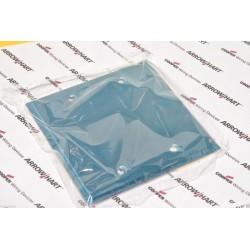 美國 COOPER 93152 雙聯 2-Gang 裝飾無孔面板 / 盲蓋 / 白鐵蓋板 / 金屬面板 工業風 Loft
