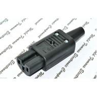 SCHURTER4781-0100 IEC C15 15A 250Vac AC電源母頭 (直立型)