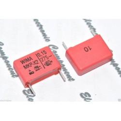 德國WIMA MKP-X2 0.15uF 275V AC 10% 腳距:15mm X2 金屬膜電容 X電容