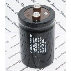 美國CDE 1000uF 400V 3186EC102M400MPC1 鎖螺絲型 濾波電容