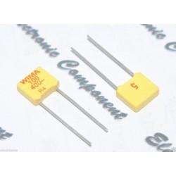 WIMA FKM2 100P (100pF) 400V 5% 腳距:5mm 金屬膜電容