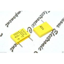 德國WIMA FKC3Z 1500P (1500PF 1.5nF 1,5nF) 400V 2.5% 腳距:10mm 金屬膜電容器