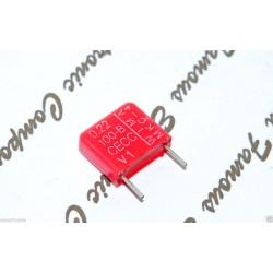 WIMA MKC4 0.22uF (220nF) 100V 10% 腳距:10mm Polycarbonate 金屬膜電容器