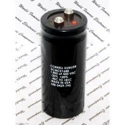美國CDE 1800uF 450V DCMCE1688 鎖螺絲型 濾波電容