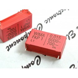 德國WIMA FKP1 0.015uF 6000V 5% 37.5mm FKP1Y021507C00JSSD 電容 x1