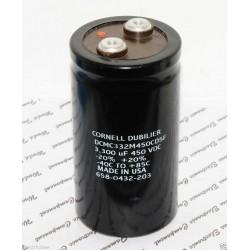 美國CDE 3300uF 450V DCMC332M450CD5F 鎖螺絲型 濾波電容
