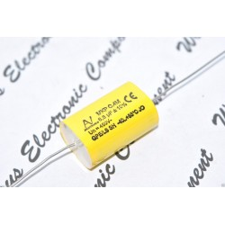 義大利ARCOTRONICS 6.8uF 450V 10% MKP C.4M  臥式金屬膜電容 x 1PCS