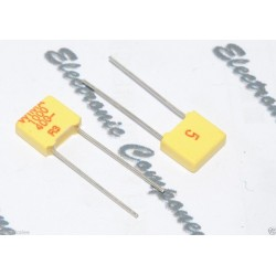 德國 WIMA FKM2 1000P (1000PF 1nF) 400V 5% 腳距:5mm 金屬膜電容器