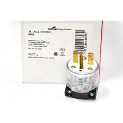 美國 COOPER 醫療級插頭 8666 15A 250V NEMA 6-15