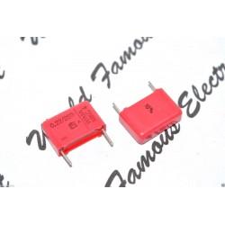 WIMA MKC4 0.22uF 250V 10% 腳距:15mm Polycarbonate 金屬膜電容器