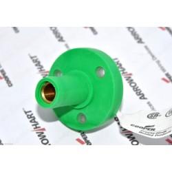 COOPER E1015-1629 150A 600V Cam-Lok J Powe 綠色 大電流電源母座