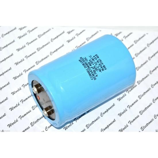 美國CDE 4700uF (4700µF) 400V DCMX472M400DD2B 鎖螺絲型 濾波電容