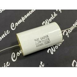 美國CDE 942C系列 2.2uF 600V 942C6W2P2K 金屬膜電容器 x1