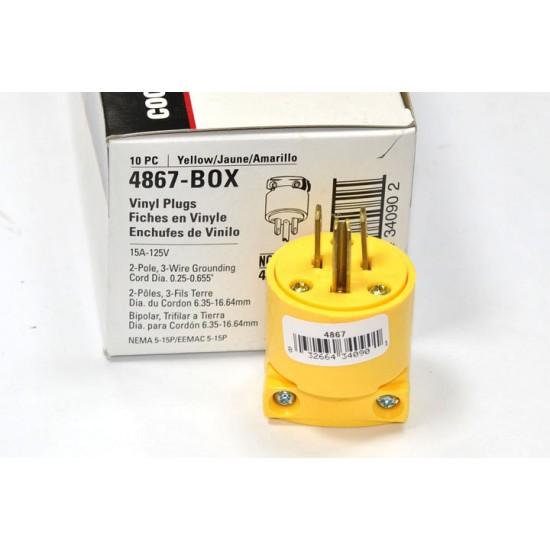 美國 COOPER 插頭 4867 15A 125V NEMA 5-15