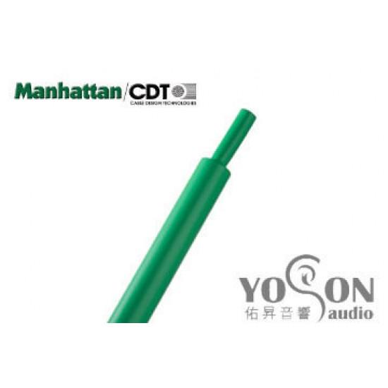 0.5公尺-美國Manhattan/CDT 3/16 (4.8mm) 熱縮比例 2:1 綠色 軍規熱縮套管