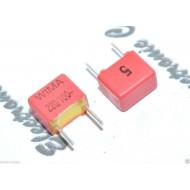 德國WIMA FKP2 220P 100V 5mm 5% 電容 FKP2D002201D00JSSD x1