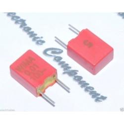 WIMA FKM2 0.01uF 100V 5% 腳距:5mm 金屬膜電容