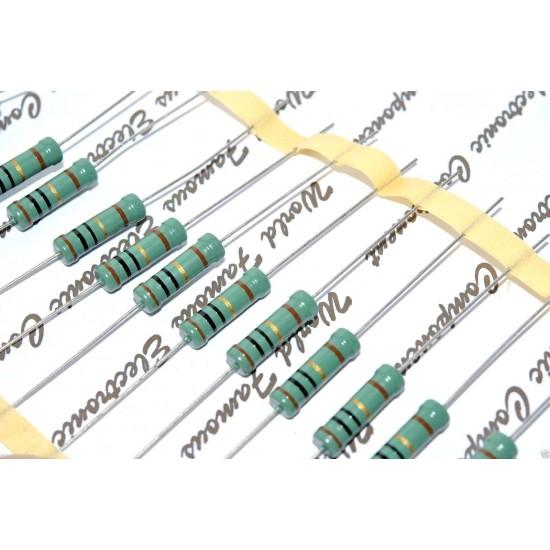 PHILIPS MR52 178K 1W 1% 500V 金屬膜電阻 早期有鉛品 x 1pcs
