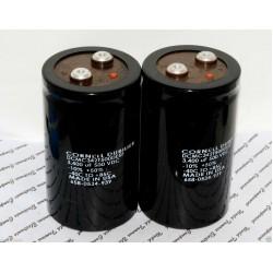 美國CDE 3400uF 500V DCMC342T500DE5F 鎖螺絲型 濾波電容